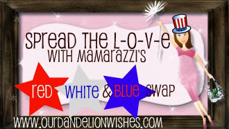 Mamarazzi's Red, White & Blue Swap