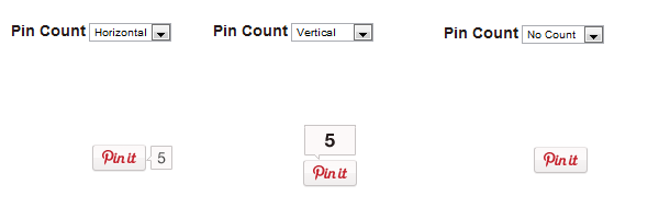 How to add a Pinterest Pin It Button - different pin it button options