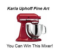 Win a Mixer from Kharla Uphoff Art