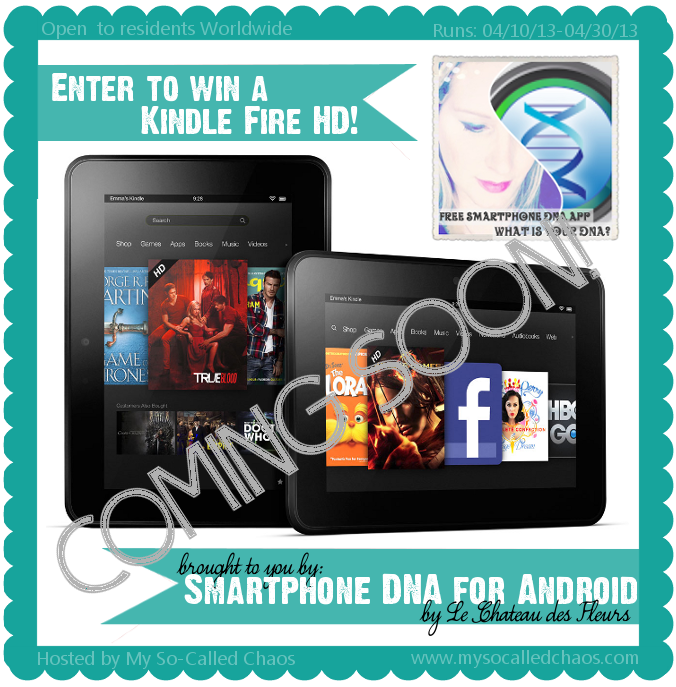Join us for the Kindle Fire HD Giveaway!