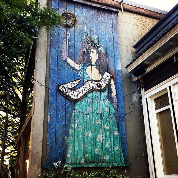 Cool Street art in the Capitol Hill District