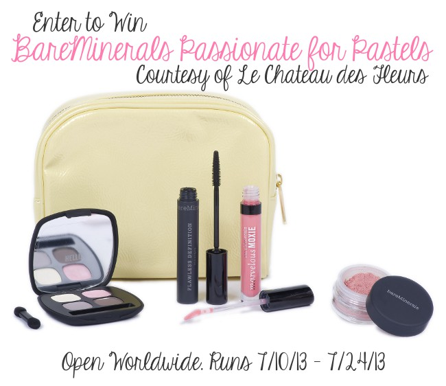 Ulta BareMinerals Passionate for Pastels Giveaway