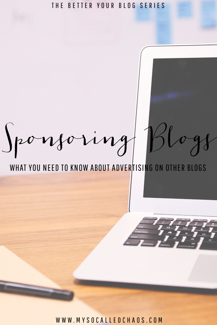 Sponsoring Blogs: What You Need to Know About Advertising on Other Blogs