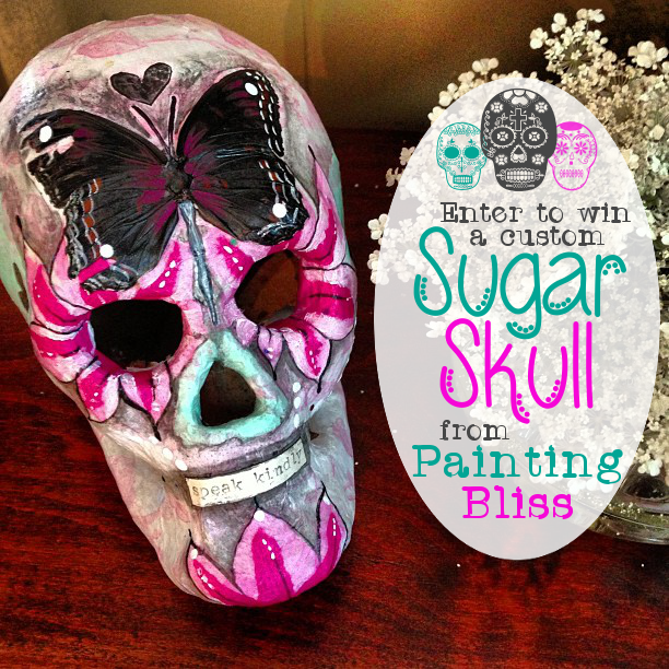 Painting Bliss Sugar Skull Giveaway