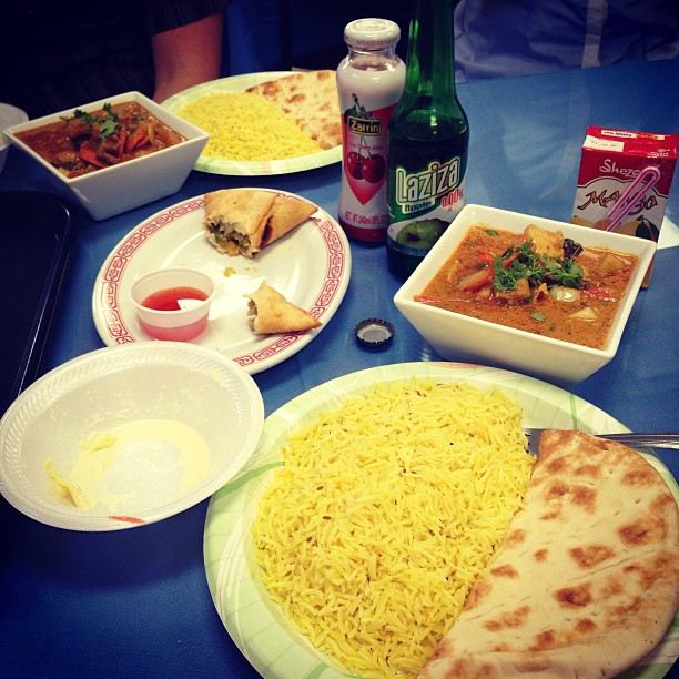 Curry from the Halal Market
