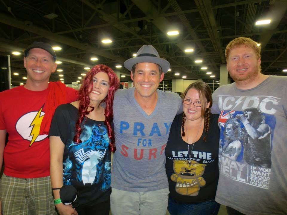 Nicholas Brendon at Salt Lake ComicCon 2013