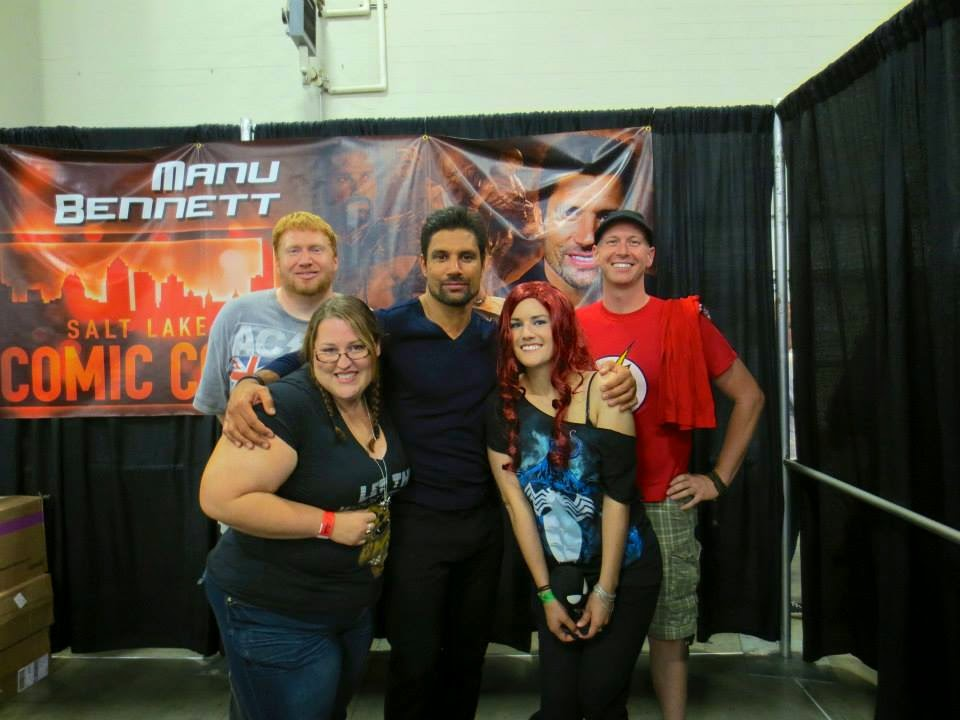 Manu Bennet at Salt Lake ComicCon 2013