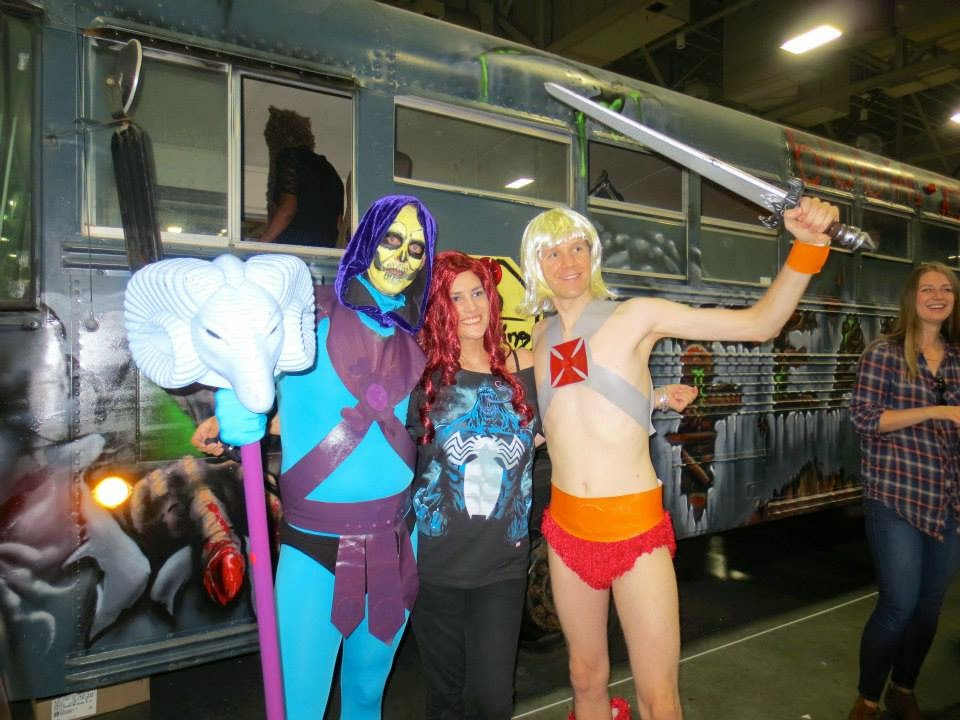 HeMan and Skeletor Cosplay at ComicCon 2013