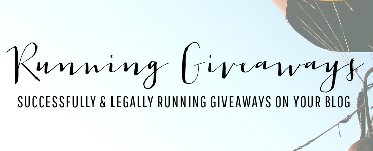 Running Giveaways