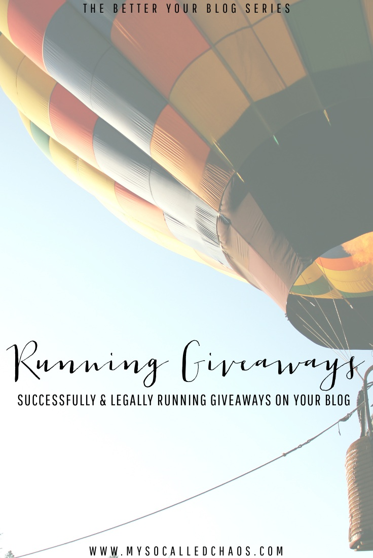 A comprehensive guide to running giveaways successfully and legally on your blog.