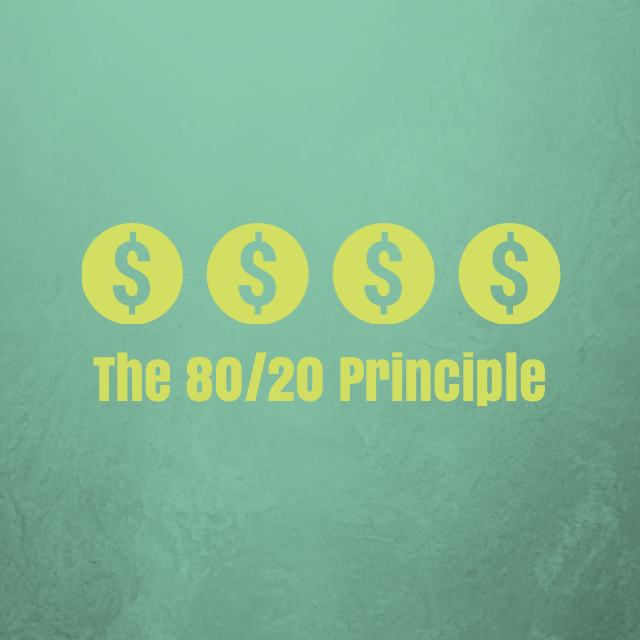 Using the 80/20 Principle to Get Ahead with Your Money