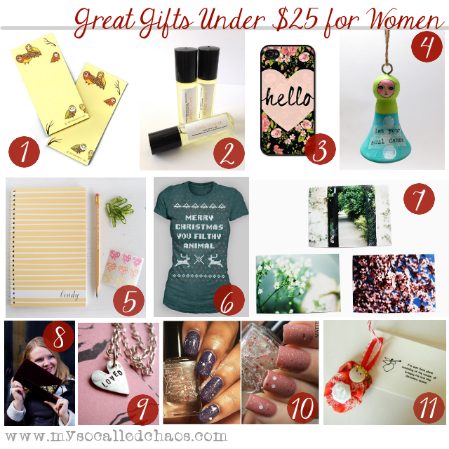 Mens christmas gift ideas under $25