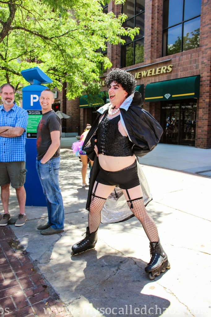 Pride 2014: Out of the Shadows Theater Group Frank-N-Furter