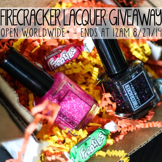 Introducing Firecracker Lacquer {Review & Giveaway}