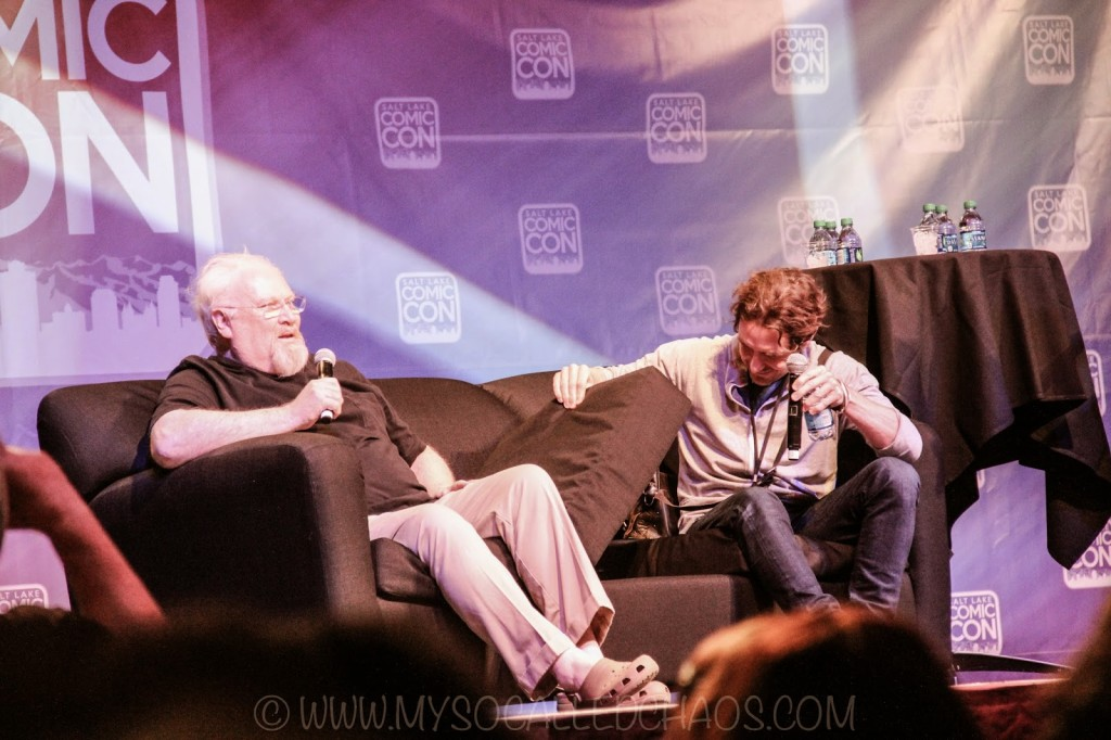 Salt Lake ComicCon Day 1: The Two Doctors Panel