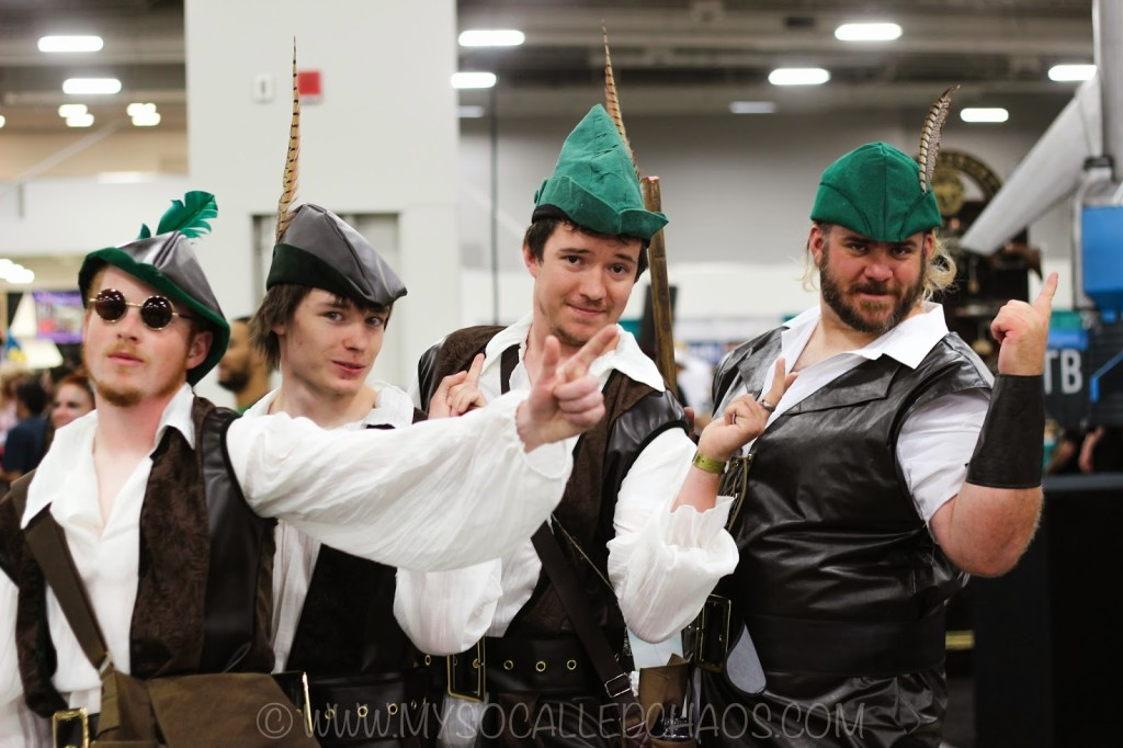 Salt Lake ComicCon Day 2: Men in Tights Cosplay