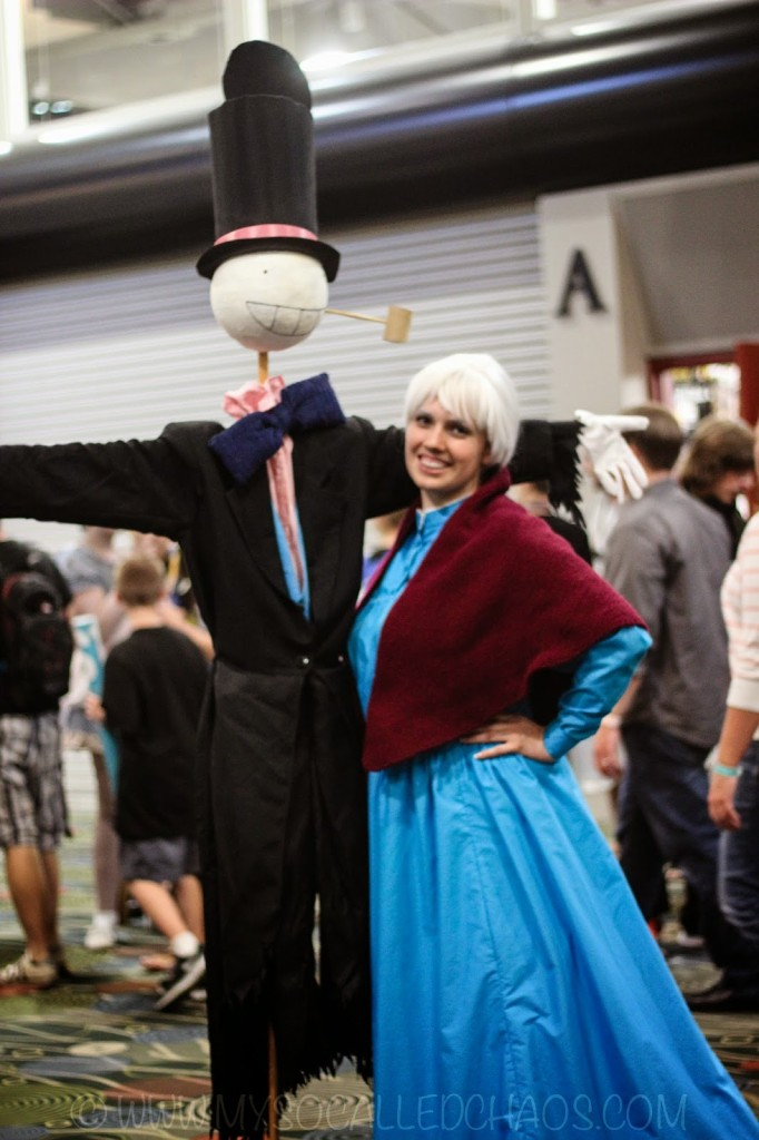 Salt Lake ComicCon Day 2: Howl's Moving Castle Cosplay