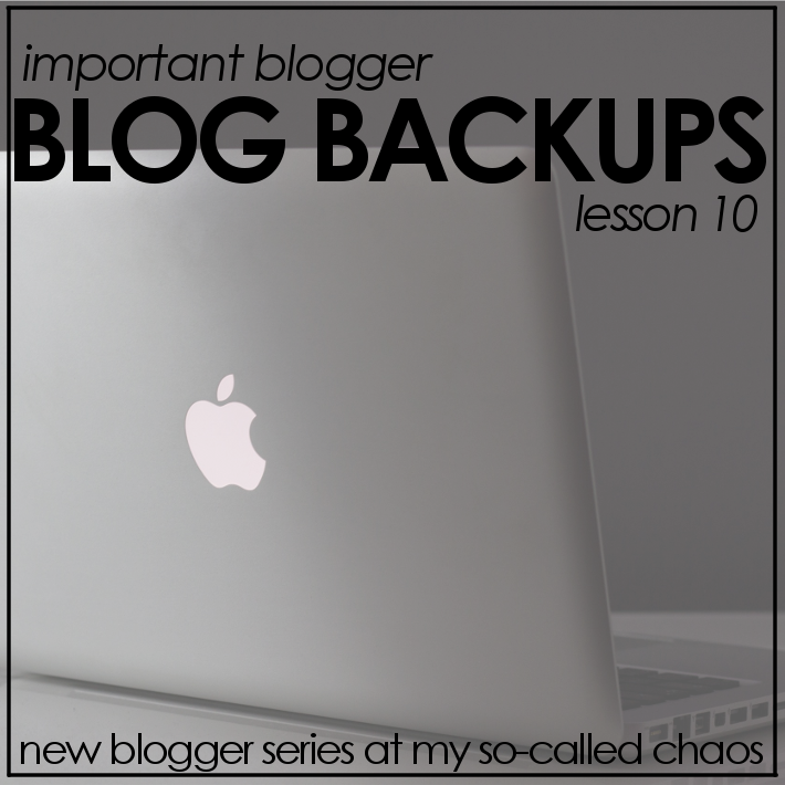 Better Your Blog | Back Up Your Blogger Blog