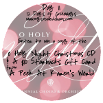 12 Days of Giveaways Day 11: Christmas CD & Starbucks Gift Card