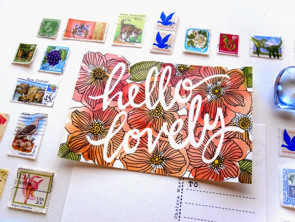 Sketchy Notions: The Weekly Postcard Project