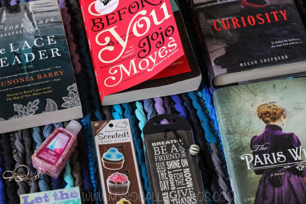 January Books 'n' Bloggers Swap Reveal