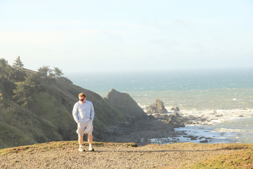Mr. Bingo at Cape Blanco, OR