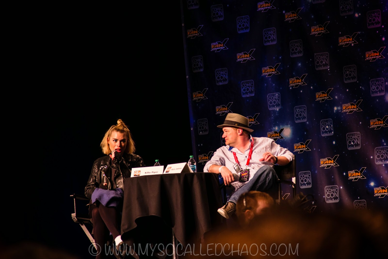 Billie Piper at Salt Lake Comic Con FanX 2015
