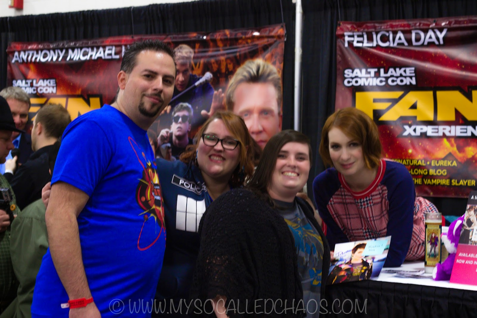 Meeting Felicia Day at Salt Lake Comic Con FanX 2015 #FanX15