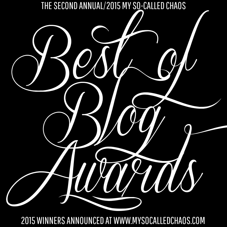 2015 Best of Blog Awards: WINNERS!