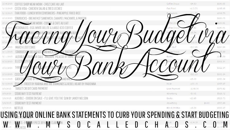 How to Curb Your Spending & Start A Budget Right From Your Bank Account