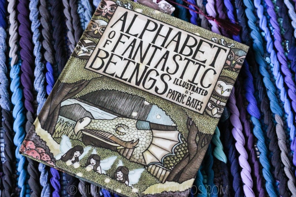 Saturday Spotlight: Alphabet of Fantastic Beings by Patric Bates