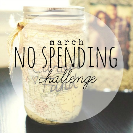 March 12x30 Challenge: No Spending