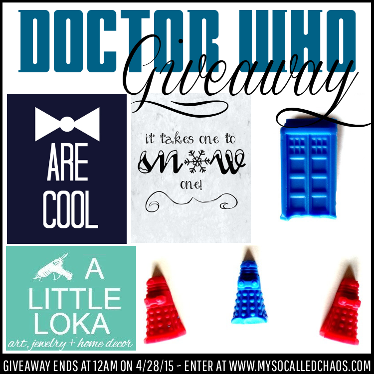 Giveaway: Doctor Who Prize Pack from A Little Loka