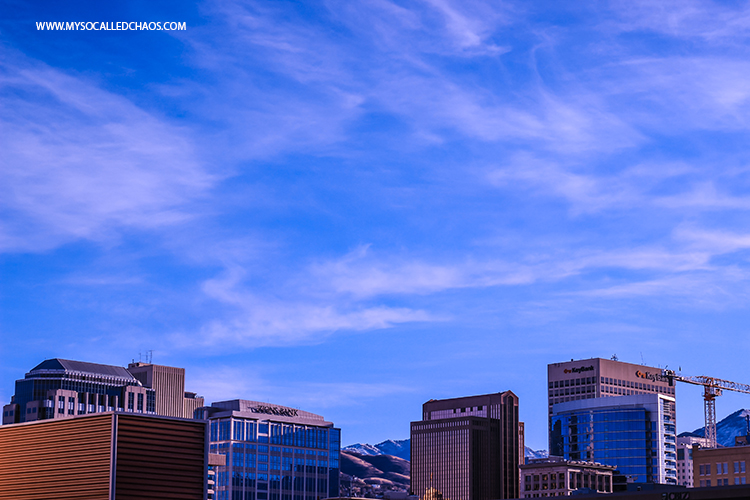 Photography: One Block of Salt Lake City-Sunrise