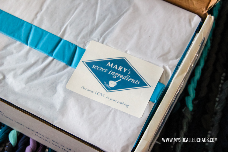 Review & Giveaway: Mary's Secret Ingredients Subscription Box