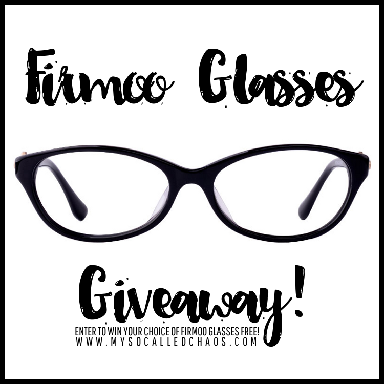 Giveaway: Enter to Win a Free Pair of Firmoo Glasses!