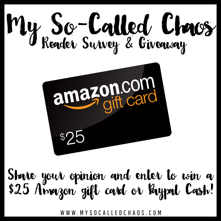 Take My Reader Survey & Enter To Win $25 To Amazon