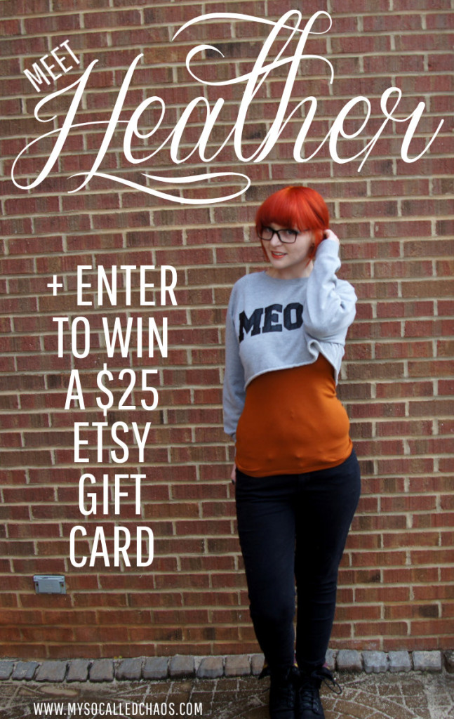Meet Heather of The Nerdy Fox & Cheaha Soaps + Enter to Win a $25 Etsy Gift Card