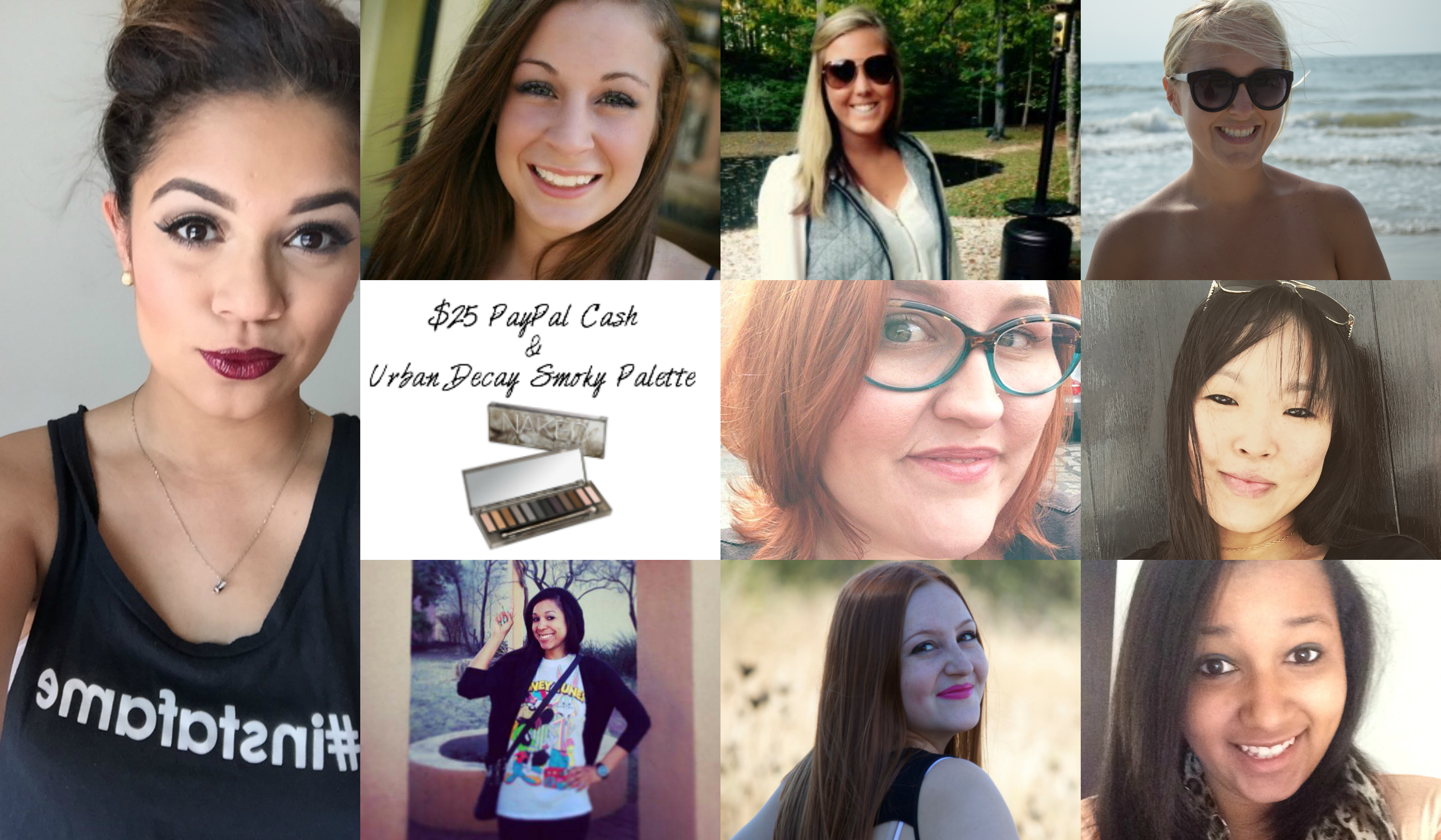 Enter to win Paypal Cash & and Urban Decay Smokey Eye Palette