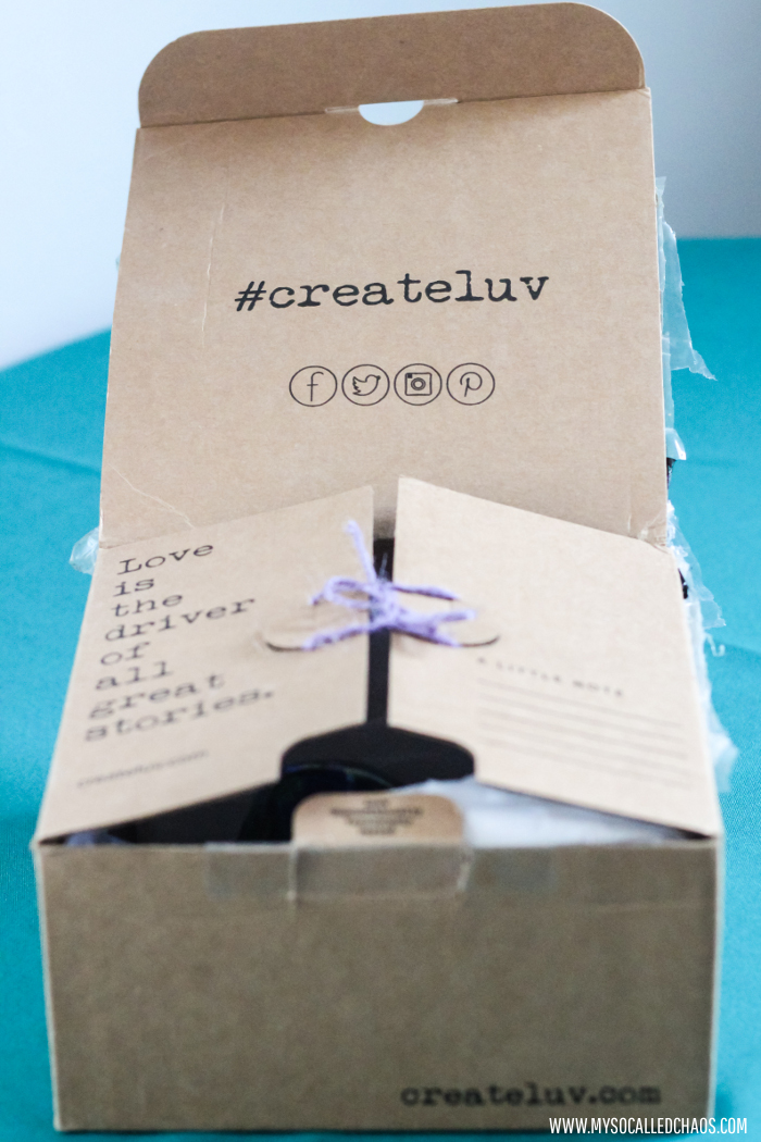 Createluv.com Packaging