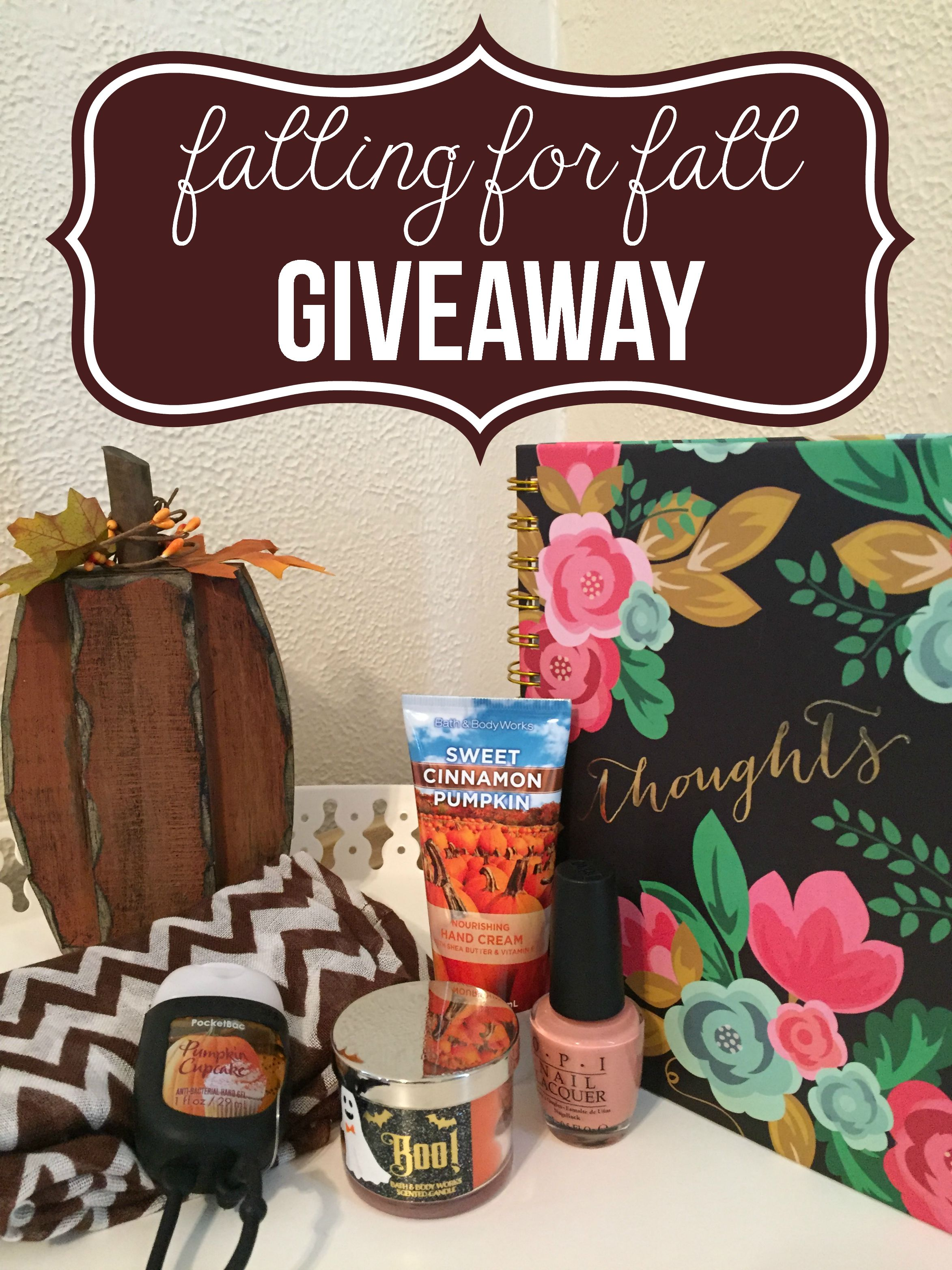 Falling for Fall Giveaway Image