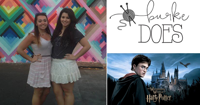 Emilie & Laura from Burke Does geek out about Harry Potter!