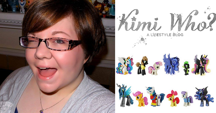Kimi from Kimi Who geeks out about Funko Pop!