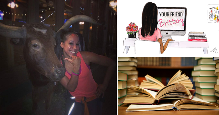 Brittany from Your Friend Brittany geeks out about books!