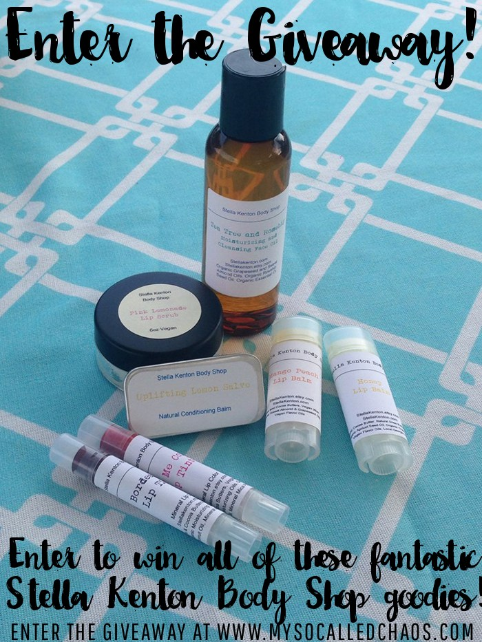 Stella Kenton Body Shop Giveaway-All Natural Bath and Beauty Products!