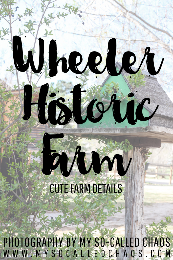 Farm Scenes from Wheeler Historic Farm in Salt Lake City, UT