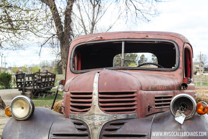 Old Truck at Wheeler Historic Farm