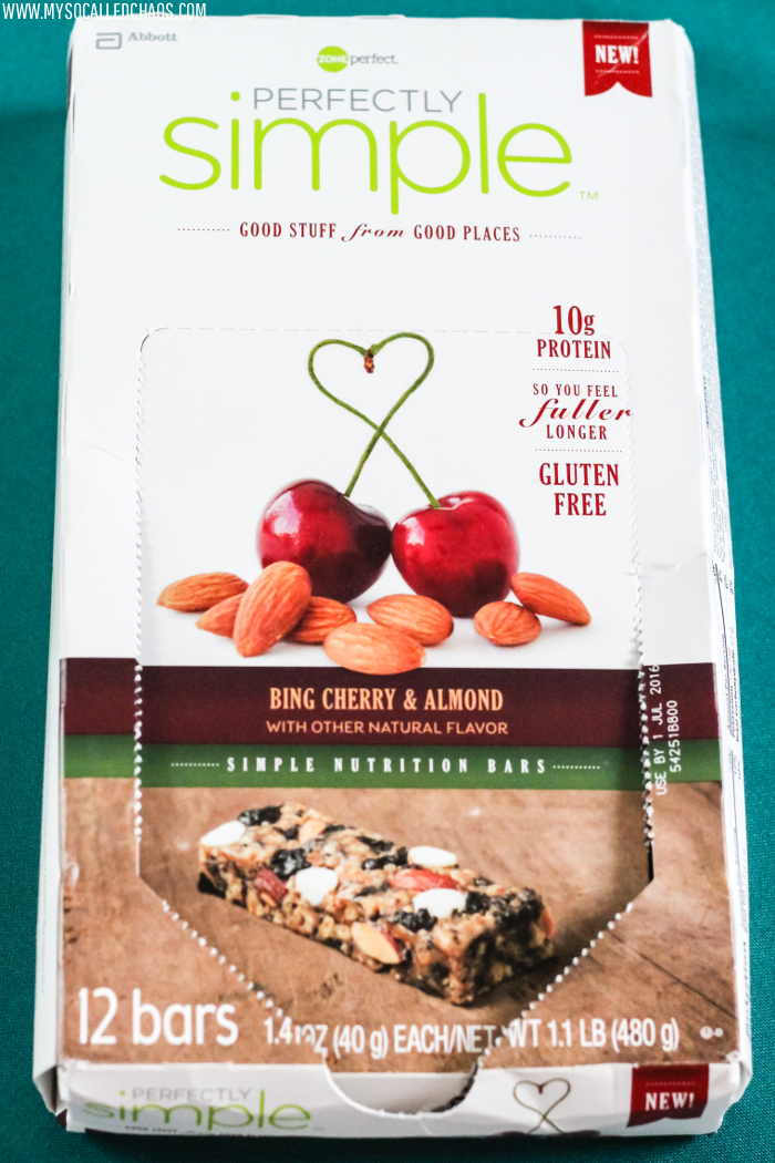 New Favorite On the Go Snack: ZonePerfect Perfectly Simple Bing Cherry & Almond