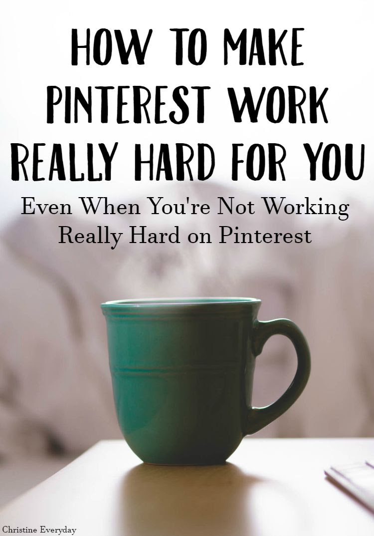 How to Make Pinterest Work Really Hard For You + an Ad Space Giveaway