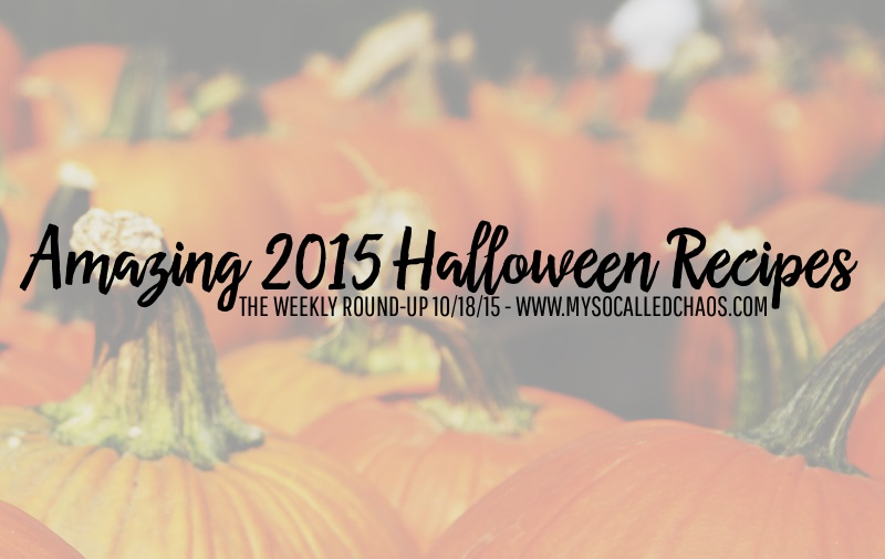 The Weekly Round Up | Amazing 2015 Halloween Recipes